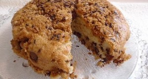 CHOCOLATE  CHIP SNACK CAKE ,One Bowl, no fancy equipment, quick and easy recipe, eggless, vegan