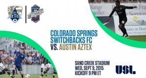 COS Switchbacks FC vs. Austin Aztex