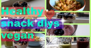 ♥ Diy ♥  healthy snacks (vegan) ☮☆♥