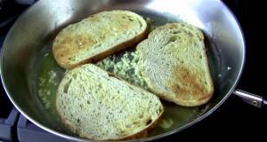 Easy Vegan Recipe – Garlic Toast