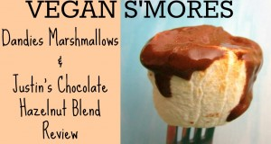 Easy Vegan S'mores– Dandies Marshmallows and Justin's Chocolate Hazelnut Blend Review