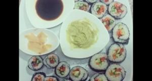 Easy Vegan Sushi Recipe – with Farrah & Ahmad
