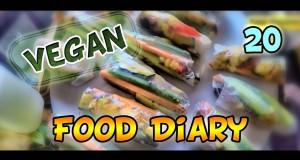 Food Diary vegan & gesund eine Woche / one week