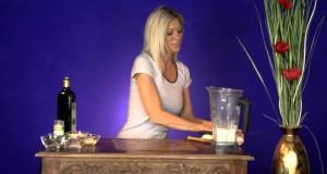 Garlic Naan recipe (raw vegan) Gluten-free, wheat-free