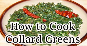How to Cook Collard Greens | Vegetarian Collard Greens Recipe