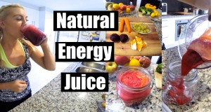 Natural Energy Juice | Super Easy | Vegan