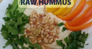 Raw Hummus Delicious Vegan Vegetarian Recipe