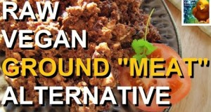 Raw Vegan Ground Meat Alternative ~ Recipe ~ Paleo Too!