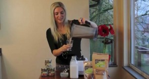 Raw Vegan Holiday Hot Chocolate
