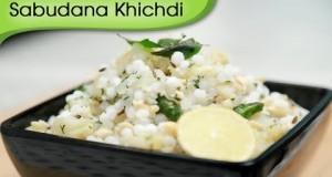 Sabudana Khichdi – Vegetarian Easy and Quick Breakfast Snack Recipe By Ruchi Bharani [HD]