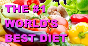 The #1 World's BEST DIET: HIGH CARB LOW FAT Whole Food Plant Based VEGAN Diet