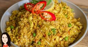 Tofu Scramble Fried Rice – Quick and Easy Vegan Recipe!