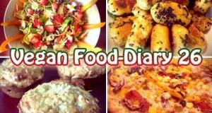 VLog #240: Vegan Food Diary 26 | Vegan kochen & backen | What I eat