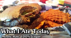 What I Ate Today on a Vegan Diet July 27, 2014