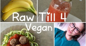 What I Ate Today (Raw Till 4 Vegan) + Healthy Recipes