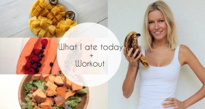 What I ate today + Workout (Raw Till 4, Vegan, High Carb)