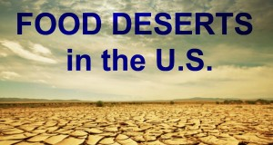 What is a FOOD DESERT and why should VEGANS care?